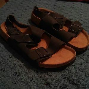 Betula Birkenstock Black Sandals 245 38 L7 M5